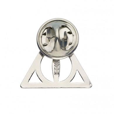 35ecdb997e9 Harry Potter Pin Badge - Deathly Hallows (Silver) - The Shop That Must Not  Be Named