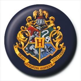 Harry Potter Button Badge Hogwarts Crest The Shop That Must