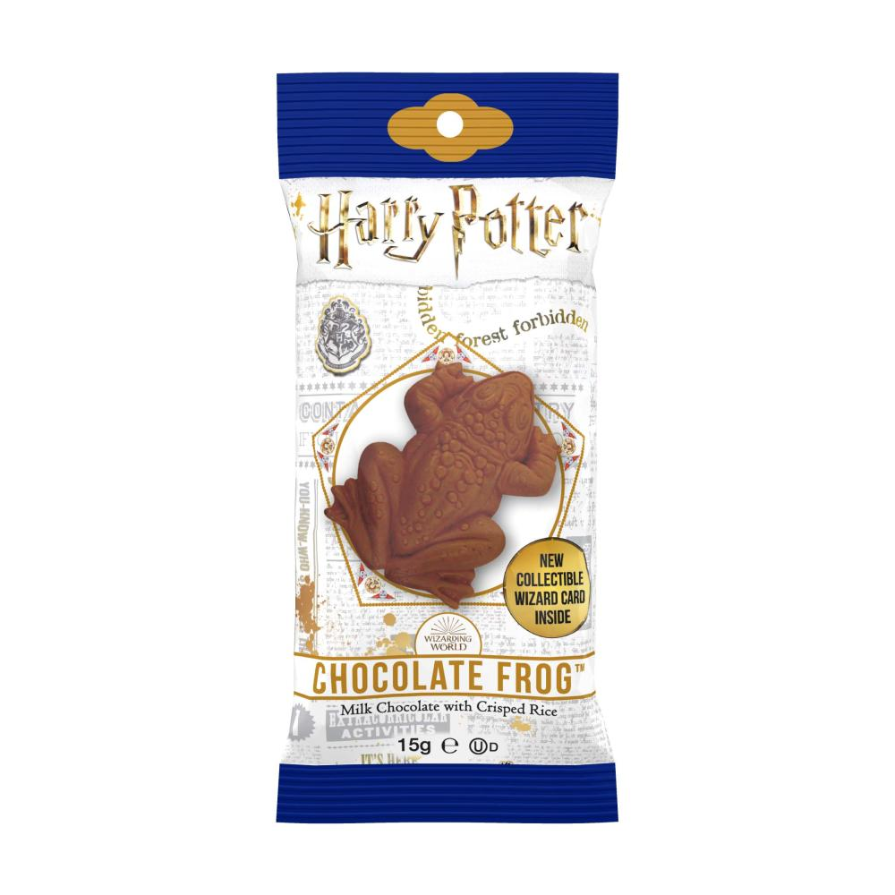 harry potter chocolate frog with collectors card 1600