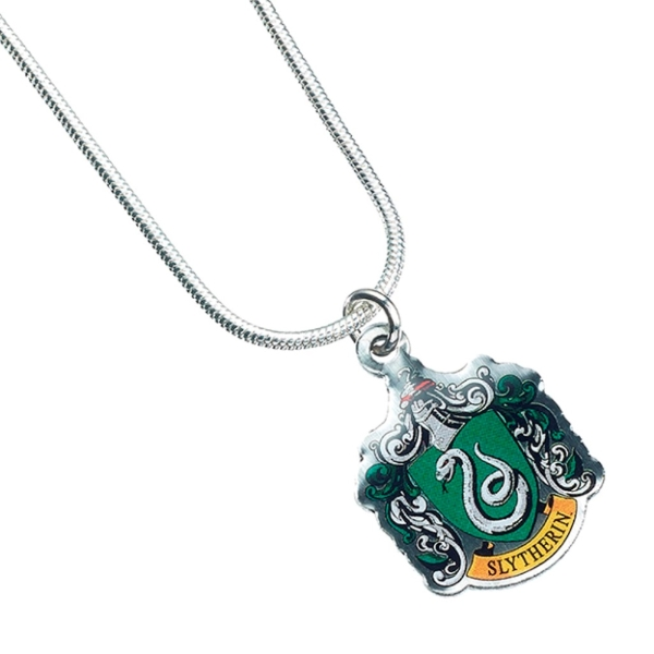 New Miniature Harry Potter Hogwarts Badge TINY Book Shaped Pendant Necklace