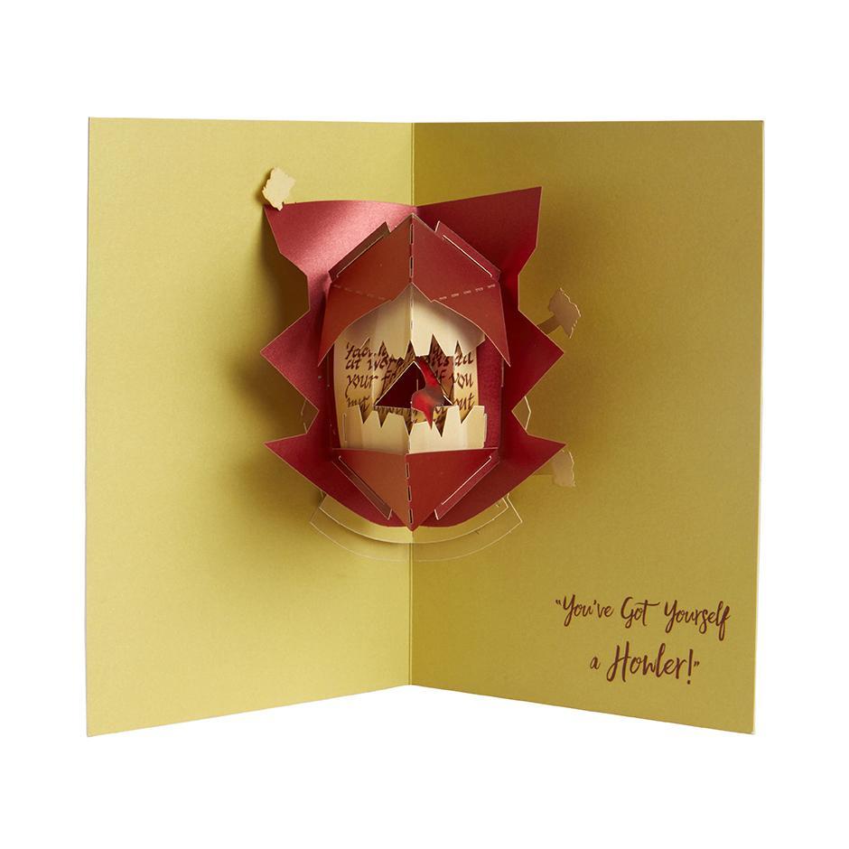 Harry Potter Pop-Up Card - Howler