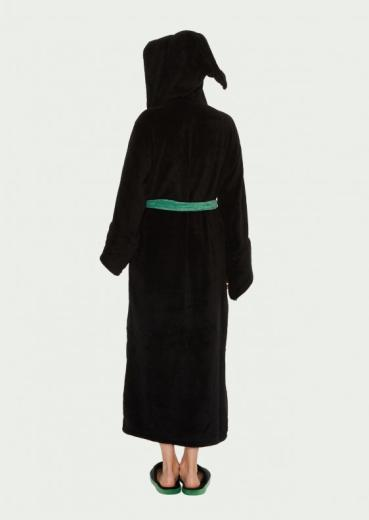8aec2fb086d75 Harry Potter Dressing Gown - Slytherin Hooded (Ladies) - The Shop That Must  Not Be Named