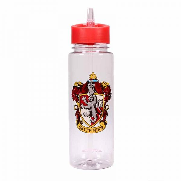 Wizarding World Harry Potter Gryffindor Quidditch Flip Top Travel Water Bottle