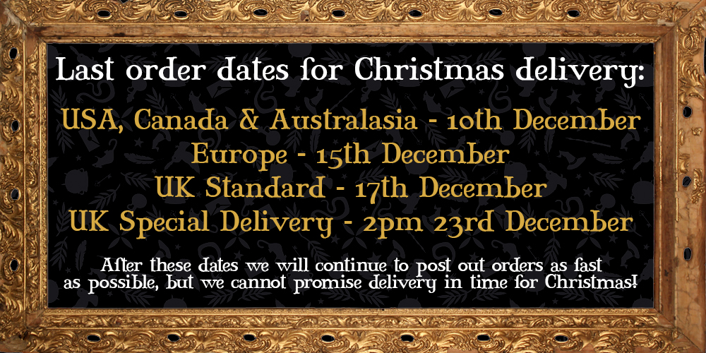 2019 Christmas Order Dates